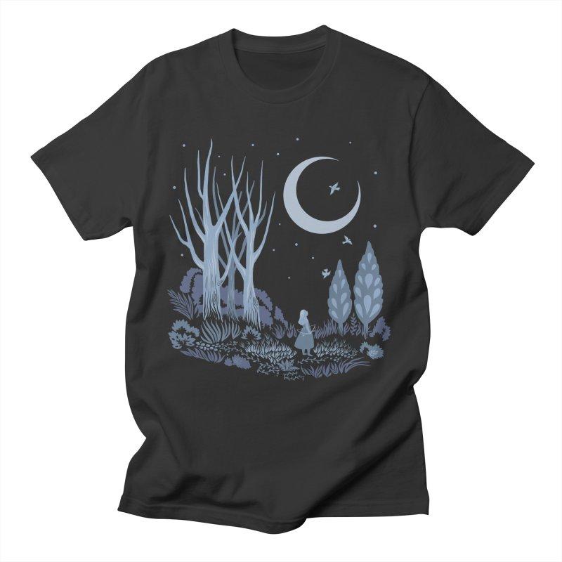 Night Hunter Men's T-Shirt by Michelle Duckworth's Artist Shop