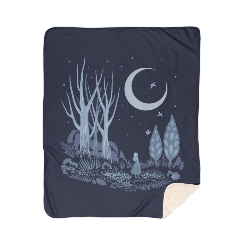 Night Hunter Home Blanket by Michelle Duckworth's Artist Shop