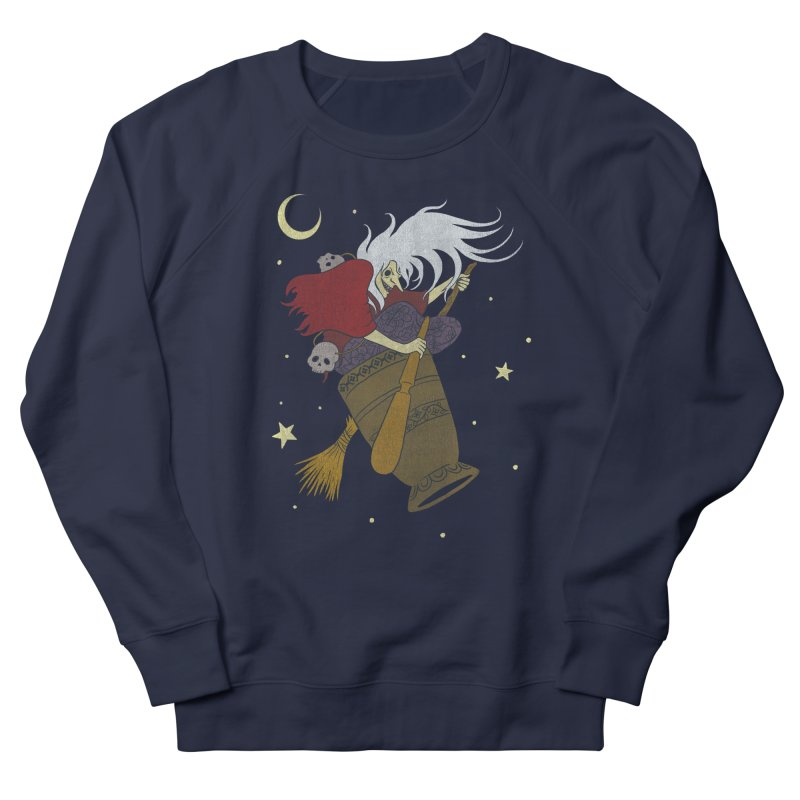 Baba Yaga Women's Sweatshirt by Michelle Duckworth's Artist Shop