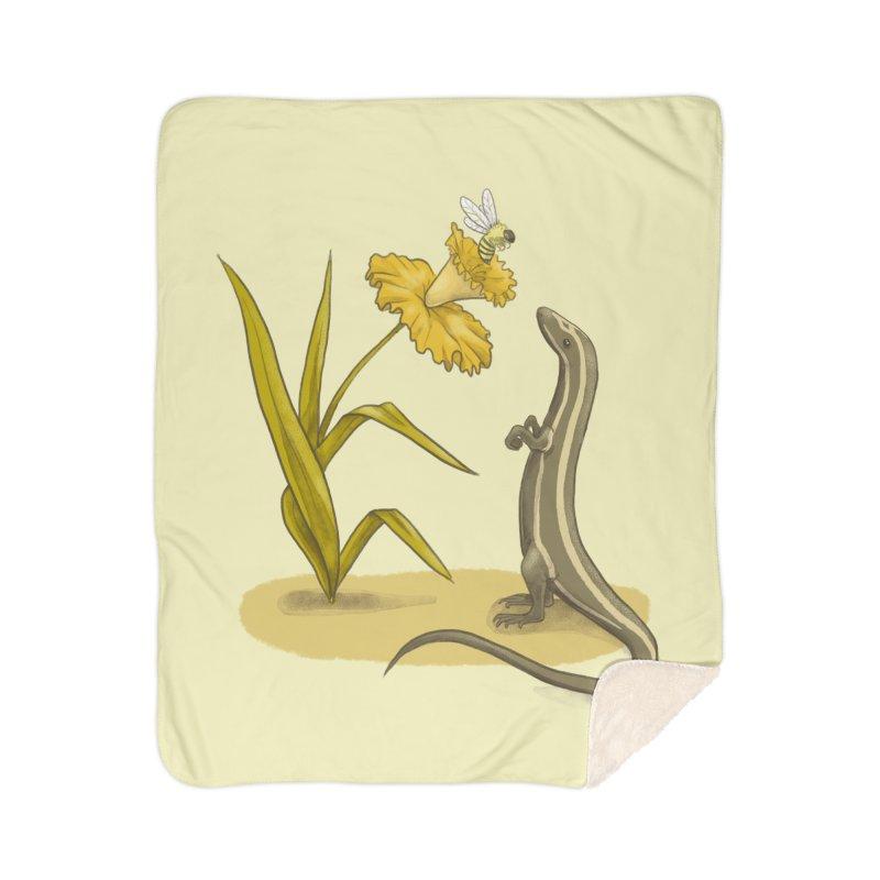 Spring Home Blanket by Michelle Duckworth's Artist Shop