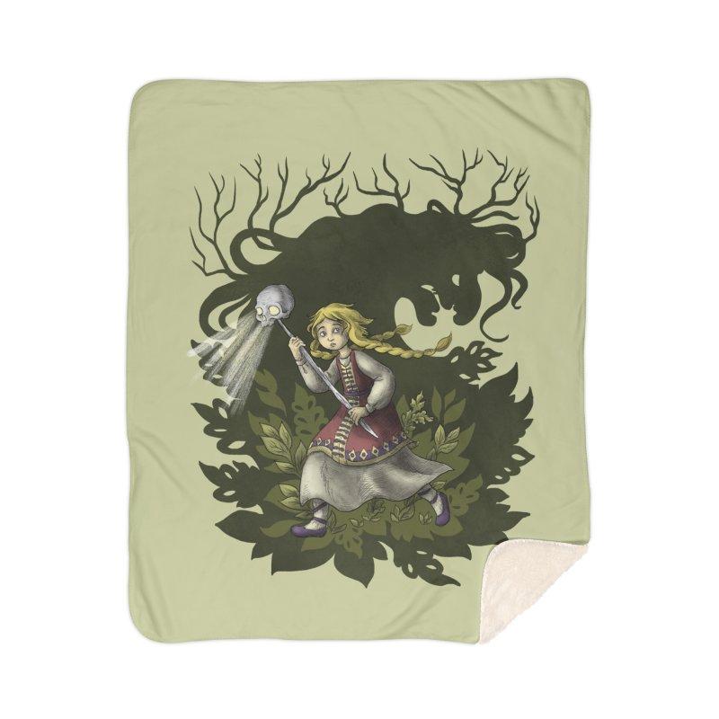 Vasilissa Home Blanket by Michelle Duckworth's Artist Shop