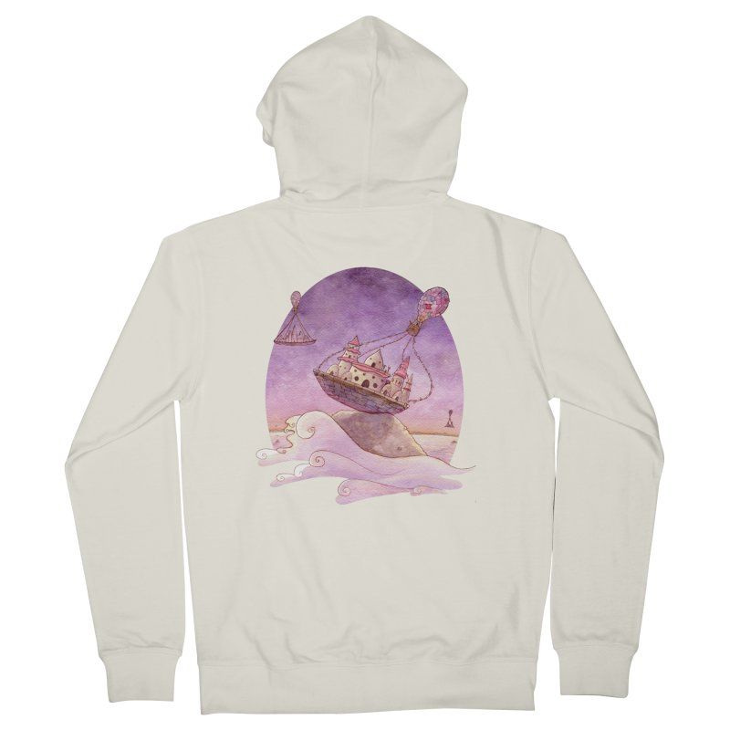Hurry! Men's Zip-Up Hoody by michellemiller's Artist Shop