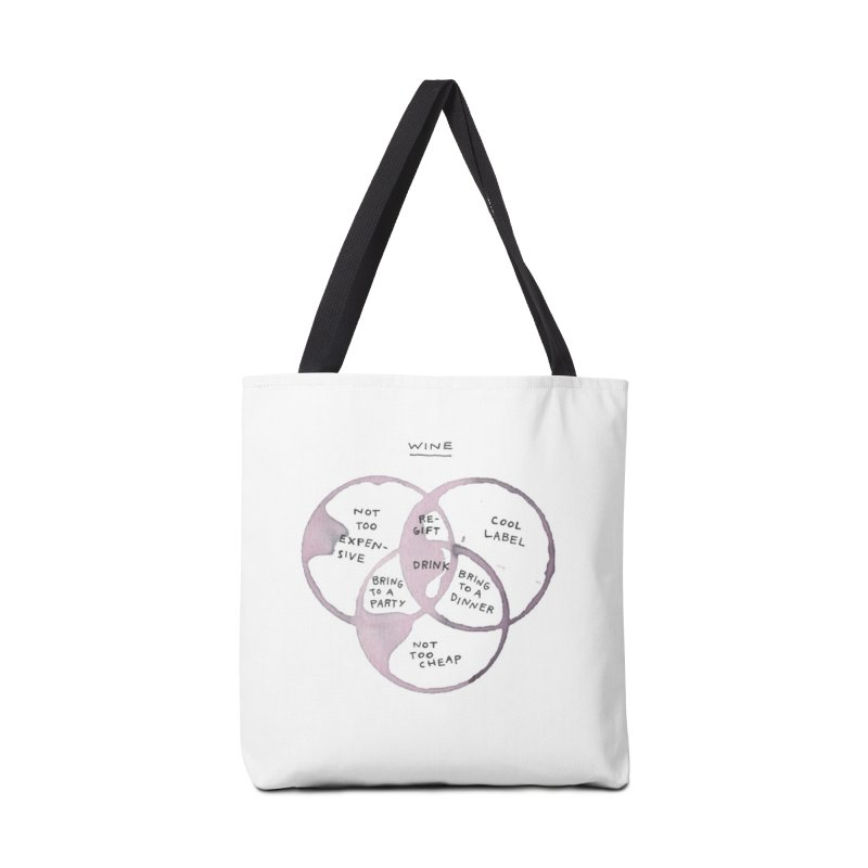 Which wine Accessories Bag by michellerial's Artist Shop