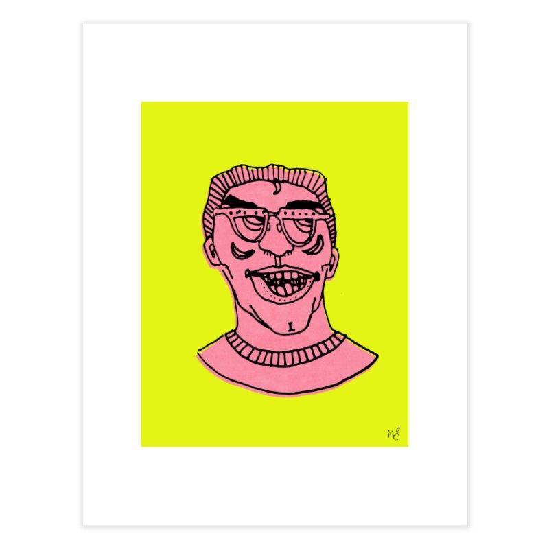 Pink Portrait Print Home Fine Art Print by Michelle Silva Artistry