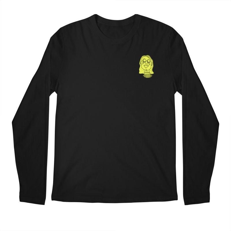 Yellow Portrait Apparel Men's Longsleeve T-Shirt by Michelle Silva Artistry