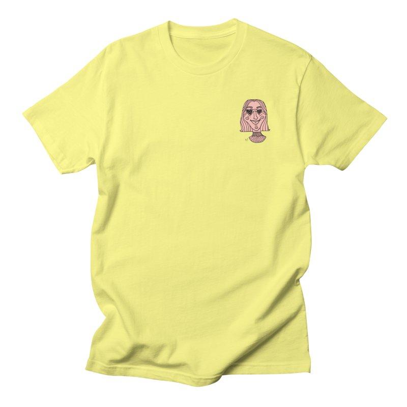 Pink Portrait Apparel Men's T-Shirt by Michelle Silva Artistry