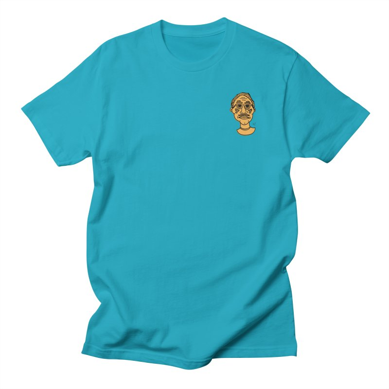 Orange Portrait Apparel Men's T-Shirt by Michelle Silva Artistry