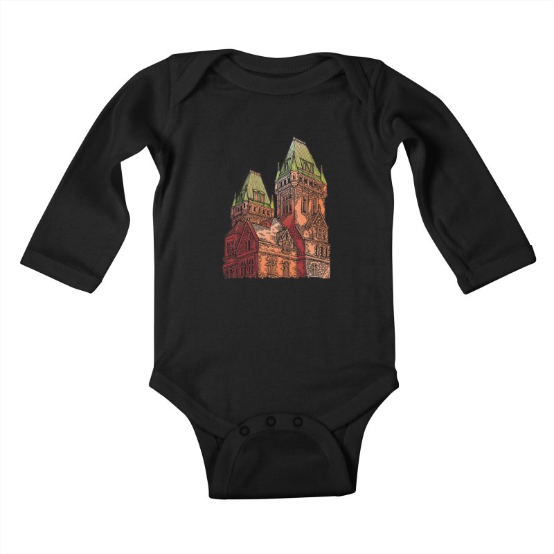 The Richardson Olmsted Kids Baby Longsleeve Bodysuit by Mickey Harmon