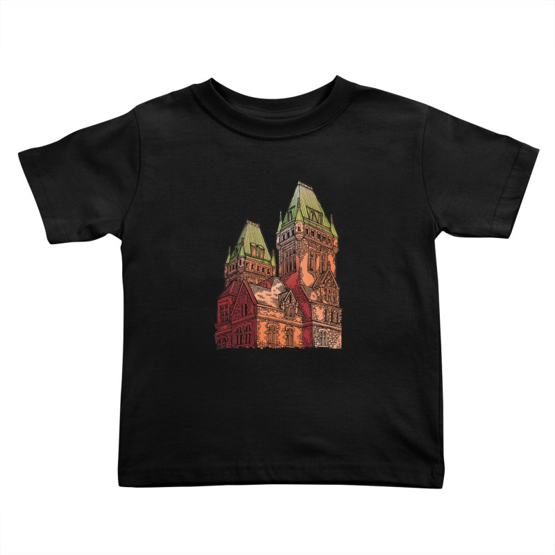 The Richardson Olmsted Kids Toddler T-Shirt by Mickey Harmon