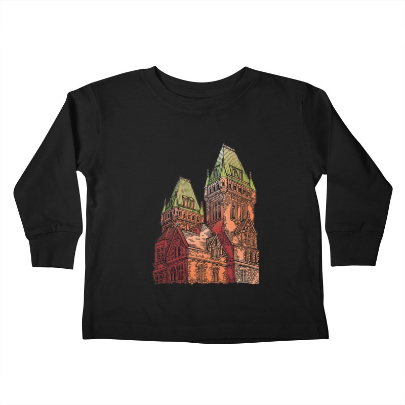 The Richardson Olmsted Kids Toddler Longsleeve T-Shirt by Mickey Harmon