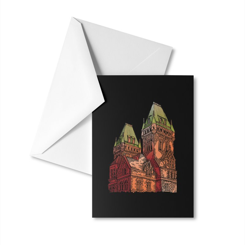 The Richardson Olmsted Accessories Greeting Card by Mickey Harmon