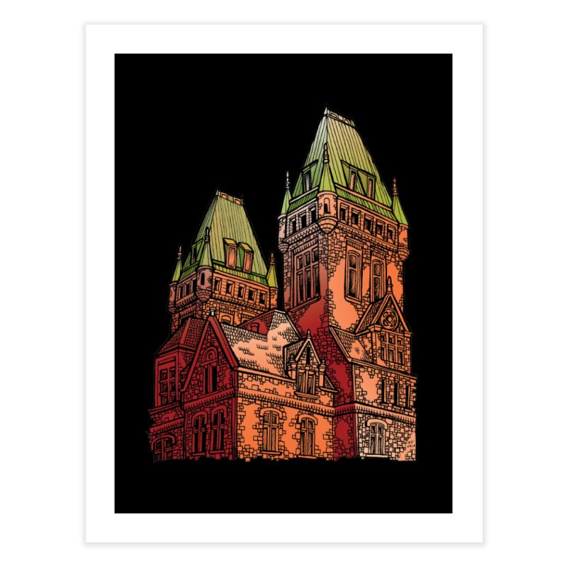 The Richardson Olmsted Home Fine Art Print by Mickey Harmon