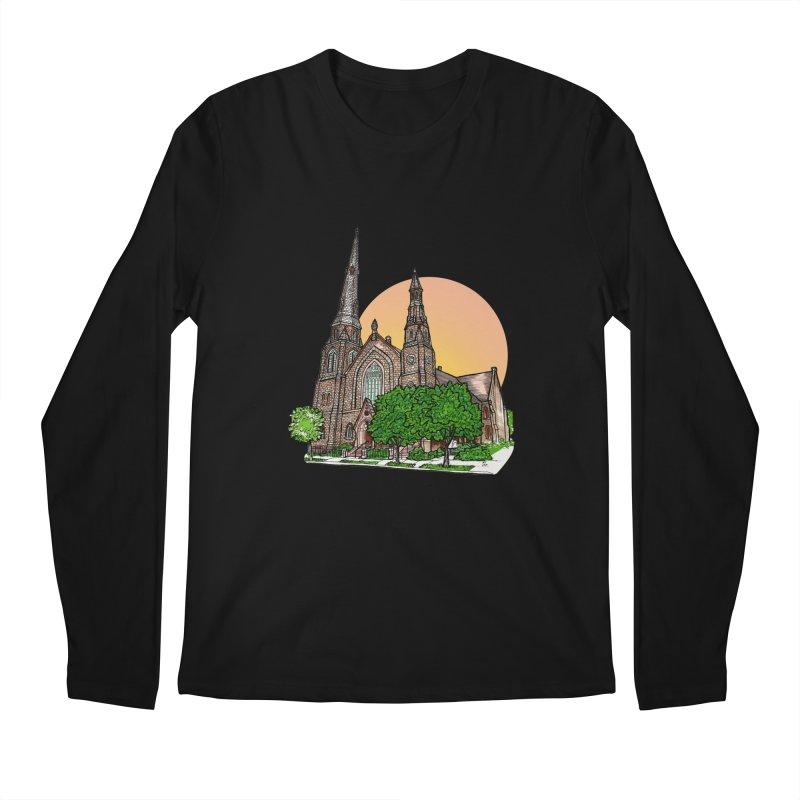Asbury Hall Men's Longsleeve T-Shirt by Mickey Harmon