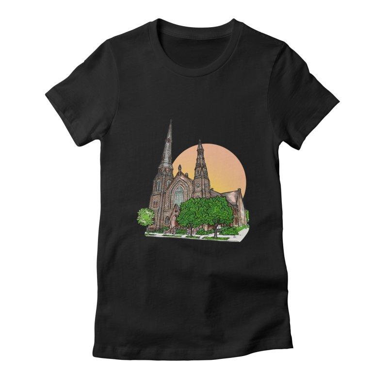Asbury Hall Women's T-Shirt by Mickey Harmon
