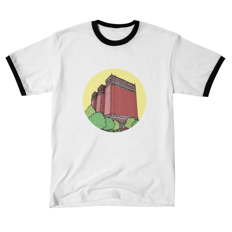 The Hotel Statler Men's T-Shirt by Mickey Harmon