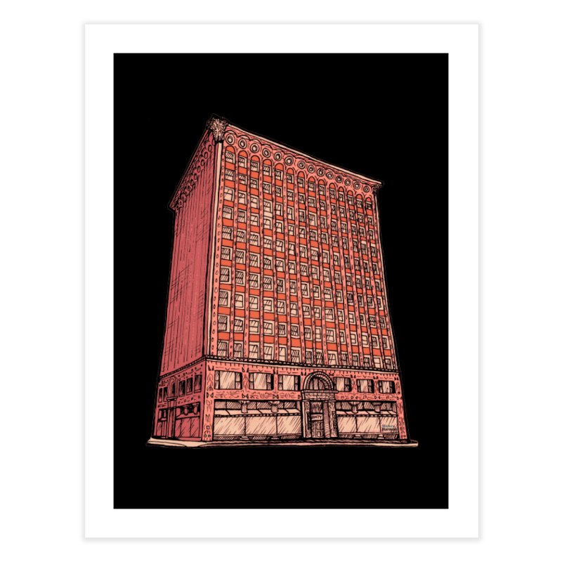 The Guaranty Building Home Fine Art Print by Mickey Harmon