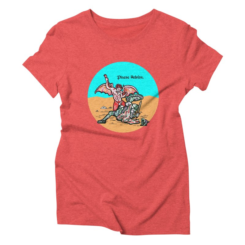 Please Advise. Women's T-Shirt by Mickey Harmon