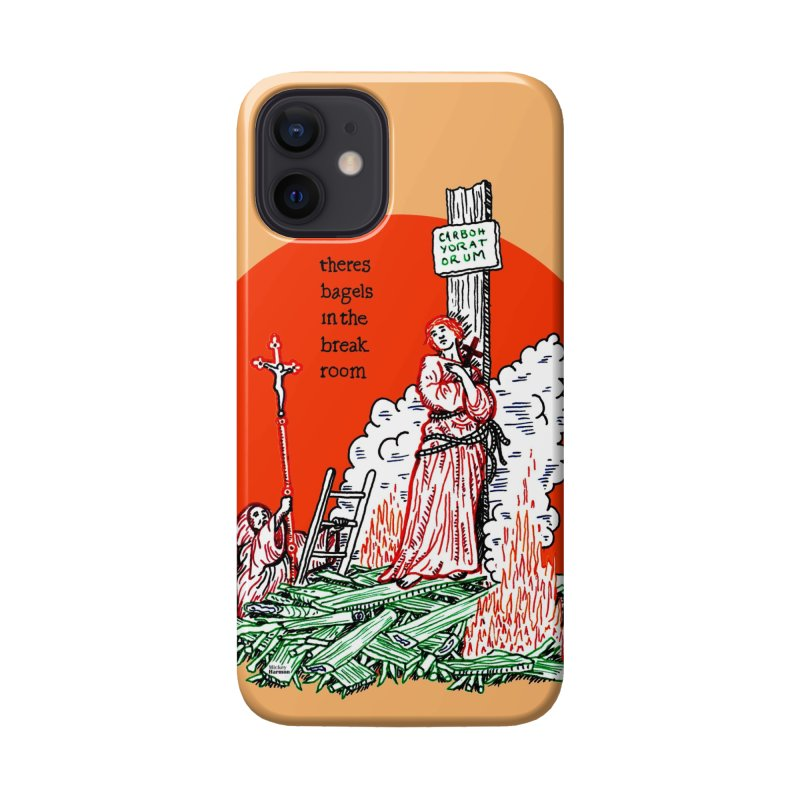 Bagel Wednesdays Accessories Phone Case by Mickey Harmon