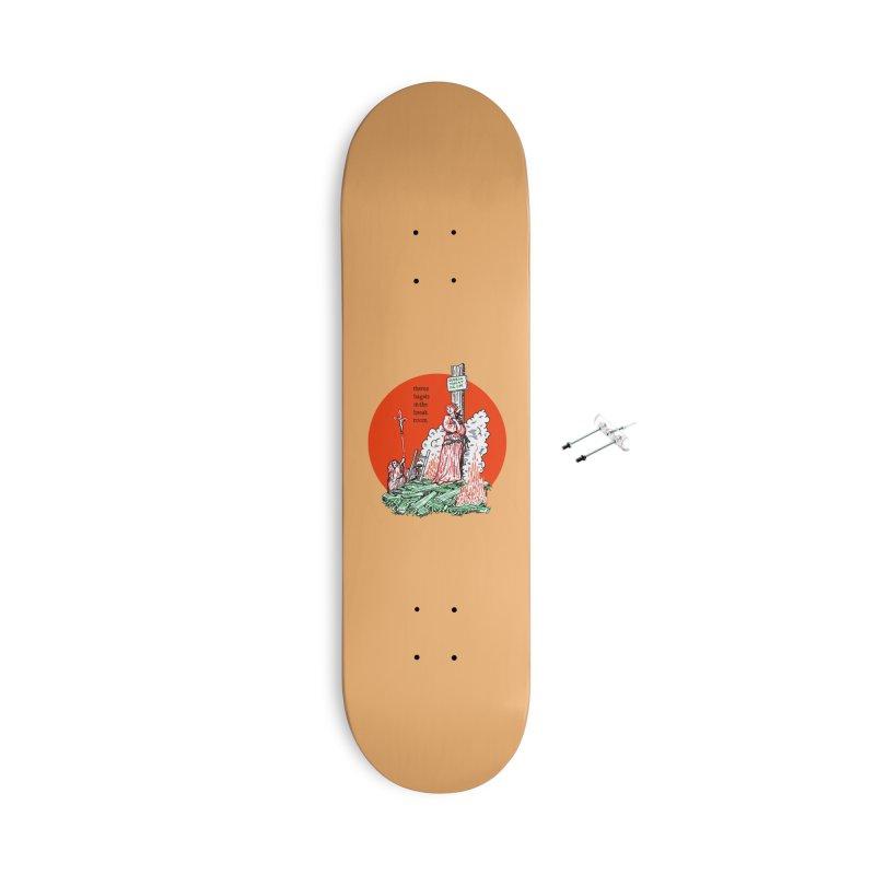 Bagel Wednesdays Accessories Skateboard by Mickey Harmon