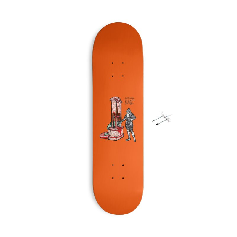 Dancing with the Stars Accessories Skateboard by Mickey Harmon