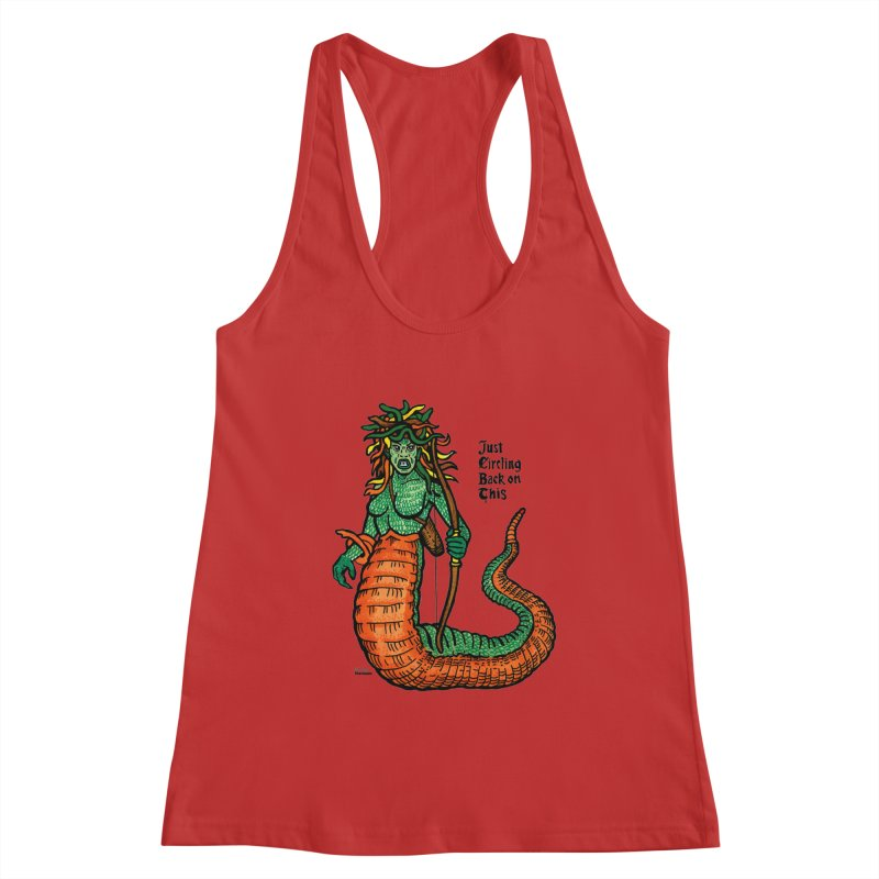 Circle Back on This! Women's Tank by Mickey Harmon