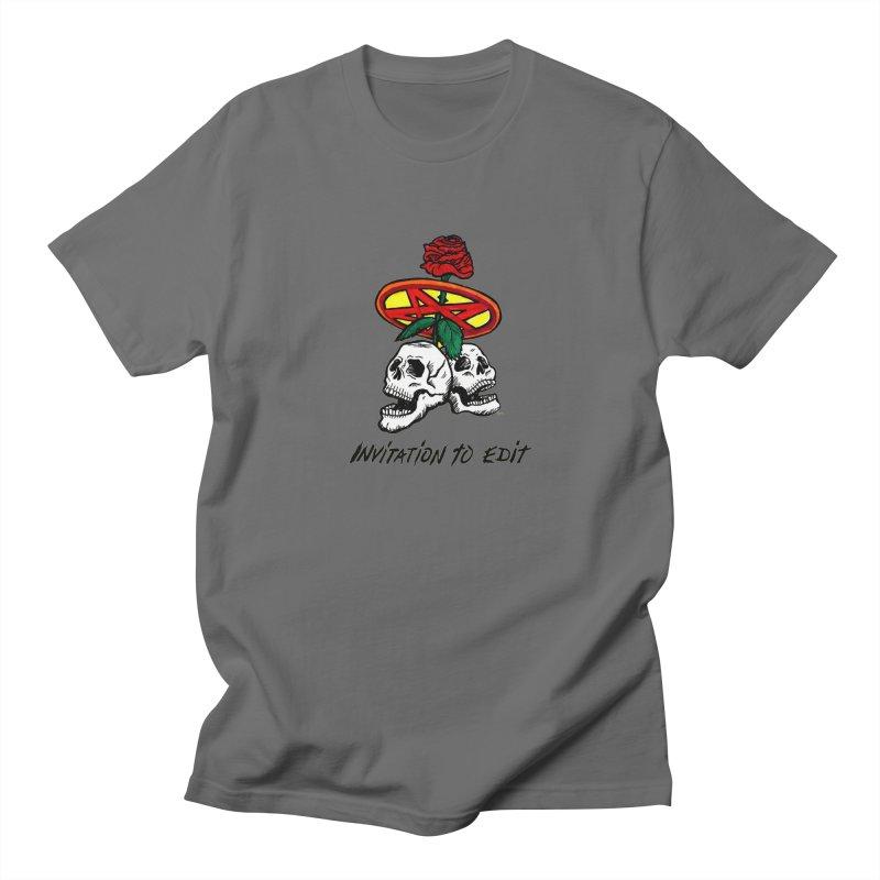 Invitation to Edit Men's T-Shirt by Mickey Harmon