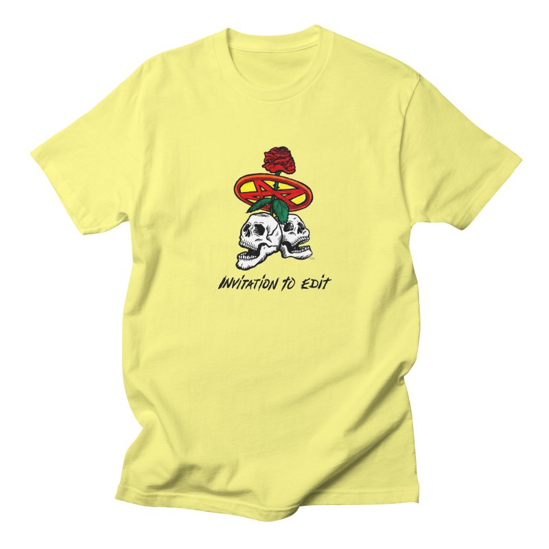 Invitation to Edit Women's T-Shirt by Mickey Harmon