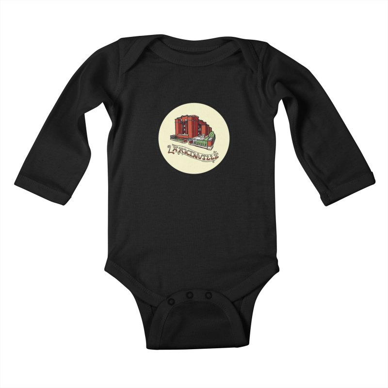Larkinville Kids Baby Longsleeve Bodysuit by Mickey Harmon