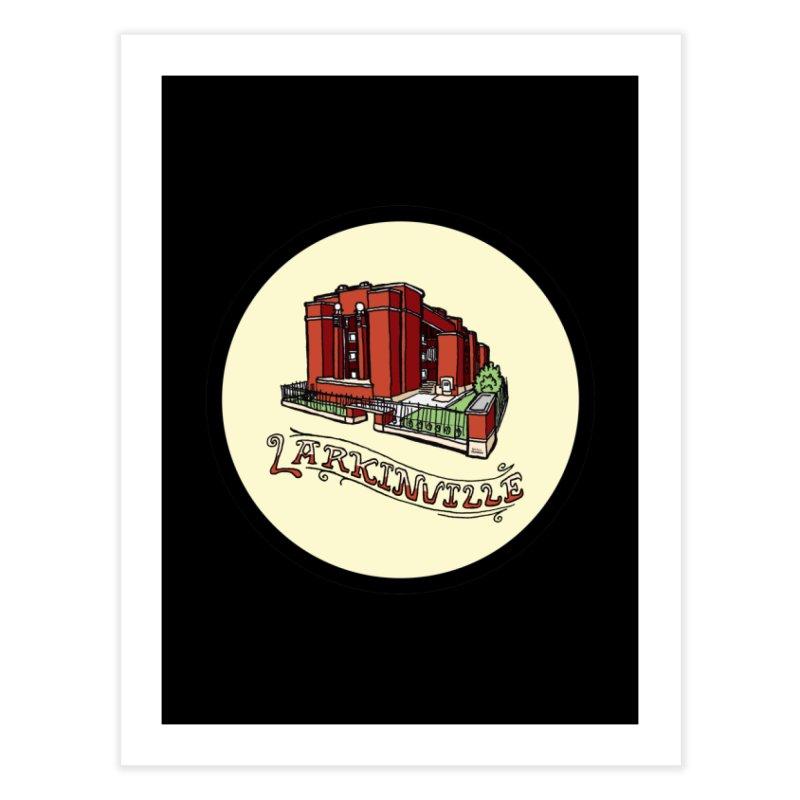 Larkinville Home Fine Art Print by Mickey Harmon