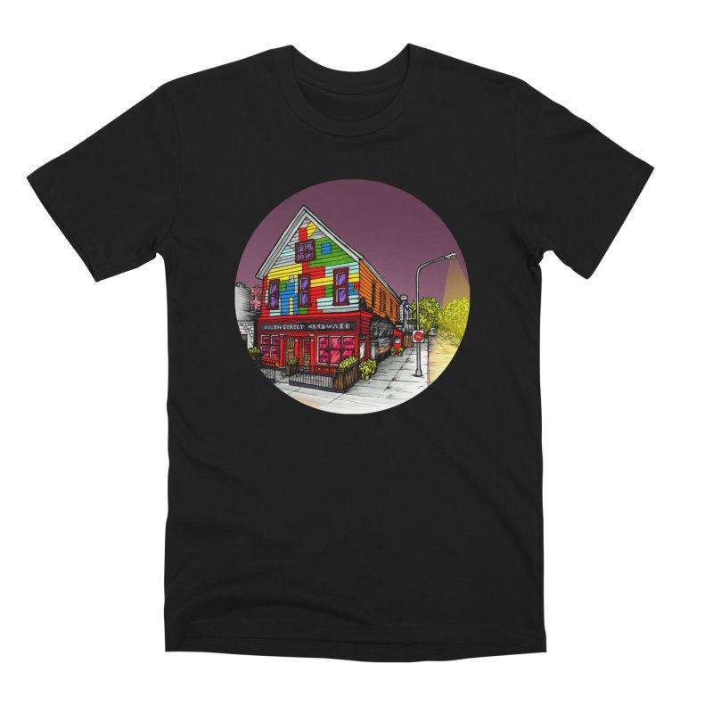 Allen Street Hardware Men's T-Shirt by Mickey Harmon