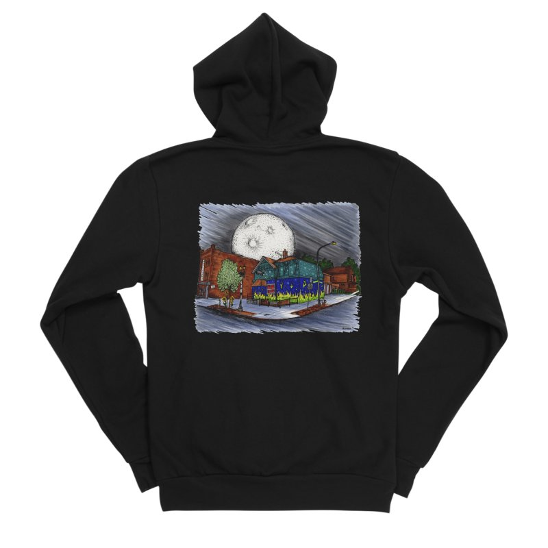 The Old Pink Men's Zip-Up Hoody by Mickey Harmon