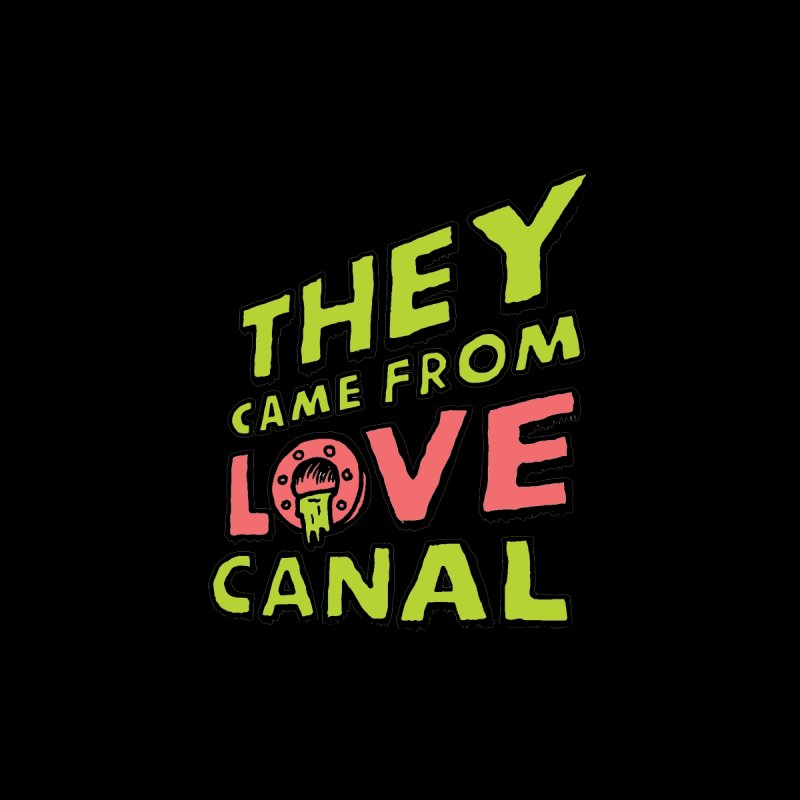 They Came From Love Canal Accessories Sticker by Mickey Harmon
