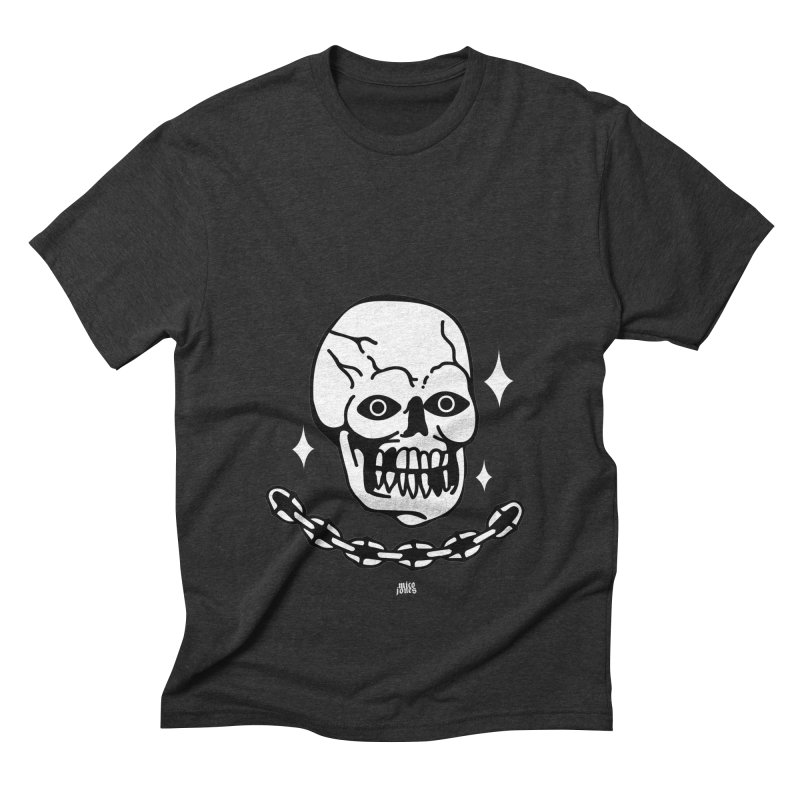 little skully Men's Triblend T-Shirt by Mico Jones Artist Shop
