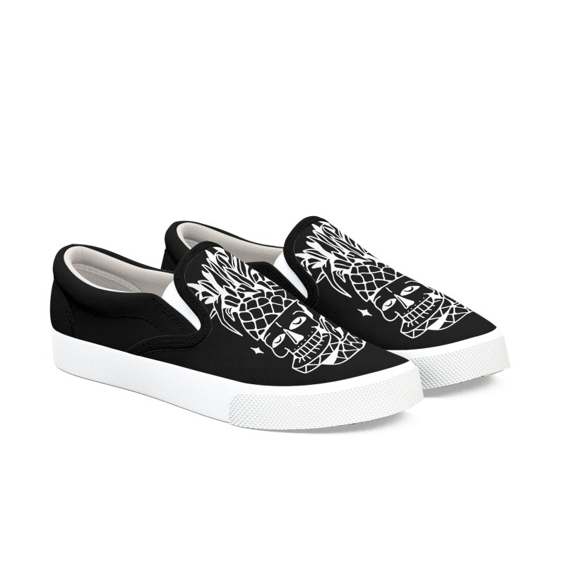 Piña Men's Slip-On Shoes by Mico Jones Artist Shop