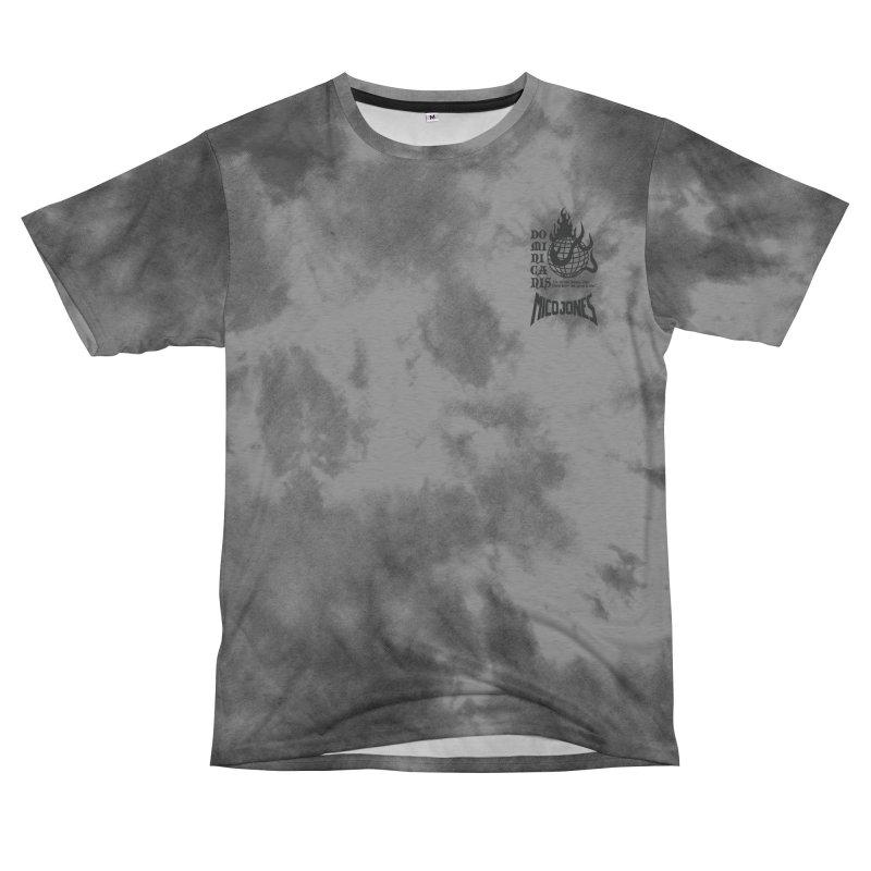 Sanit Dominic Gray Tshirt Women's Cut & Sew by Mico Jones Artist Shop