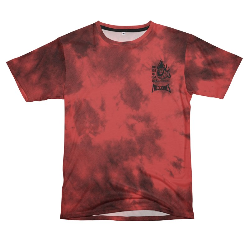 Domini-canis Dogs Red Women's Cut & Sew by Mico Jones Artist Shop