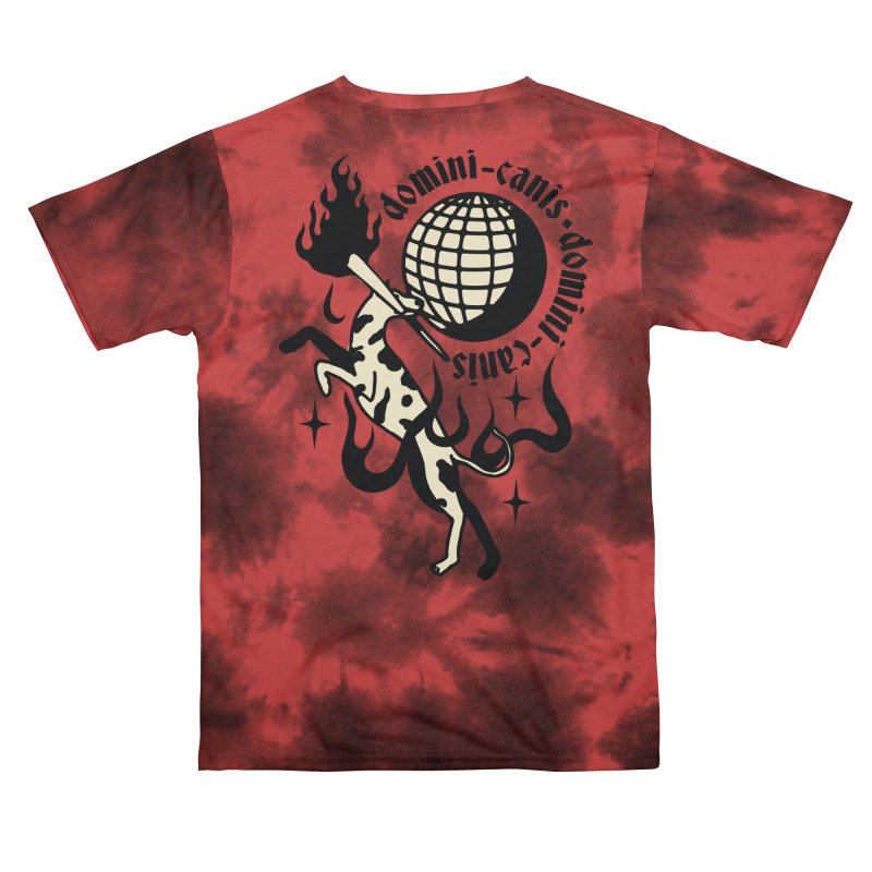 La luz del mundo Red Men's Cut & Sew by Mico Jones Artist Shop