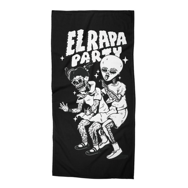EL RAPA PARTY Accessories Beach Towel by Mico Jones Artist Shop