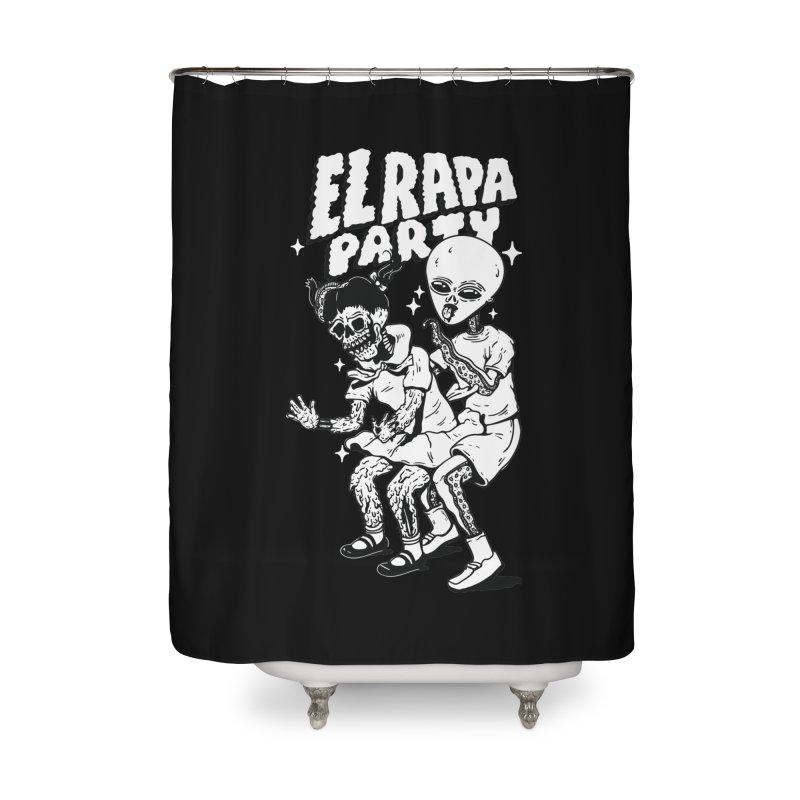 EL RAPA PARTY Home Shower Curtain by Mico Jones Artist Shop