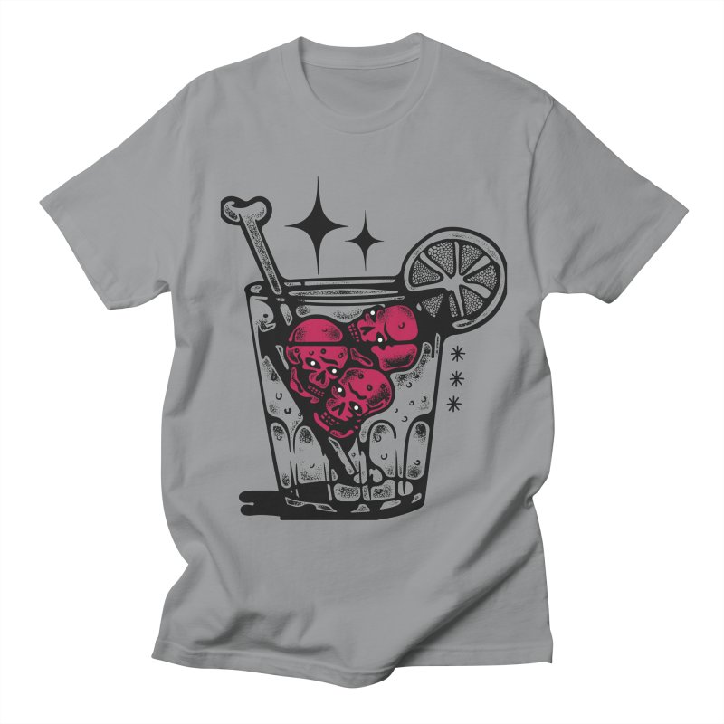 DRINK XX in Men's T-shirt Slate by Mico Jones Artist Shop