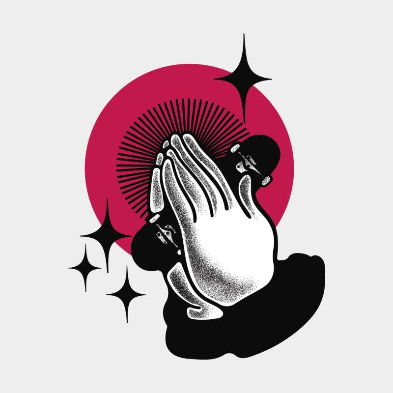 PRAY FOR SKATE Men's T-shirt by Mico Jones Artist Shop