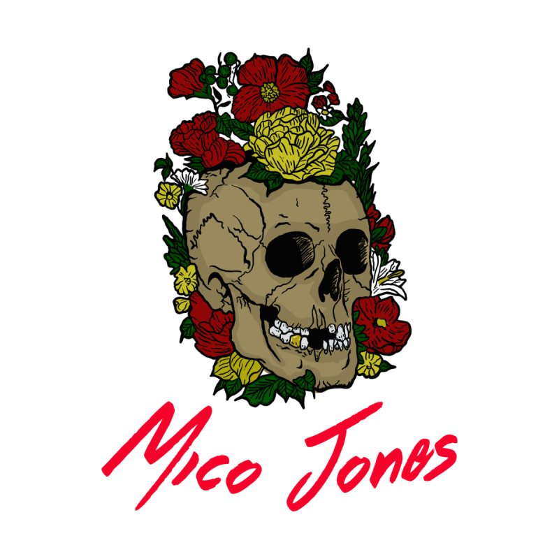 Flower skull by Mico Jones Artist Shop