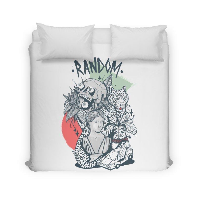 RAMDOM Home Duvet by Mico Jones Artist Shop