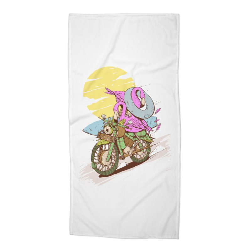 GET WILD Accessories Beach Towel by Mico Jones Artist Shop