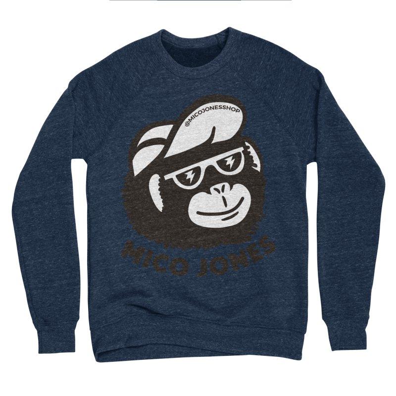 Mico Jones Mono Men's Sponge Fleece Sweatshirt by Mico Jones Artist Shop