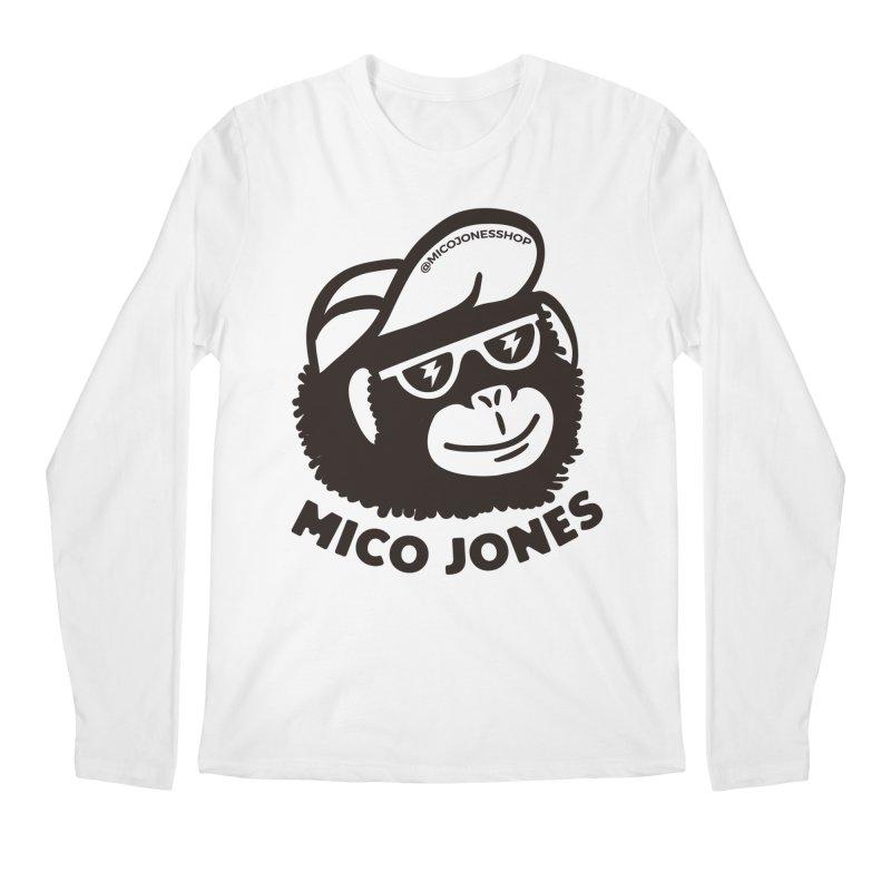 Mico Jones Mono Men's Longsleeve T-Shirt by Mico Jones Artist Shop