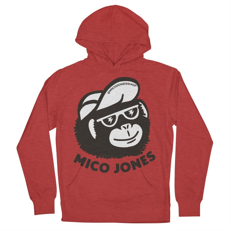 Mico Jones Mono Men's Pullover Hoody by Mico Jones Artist Shop