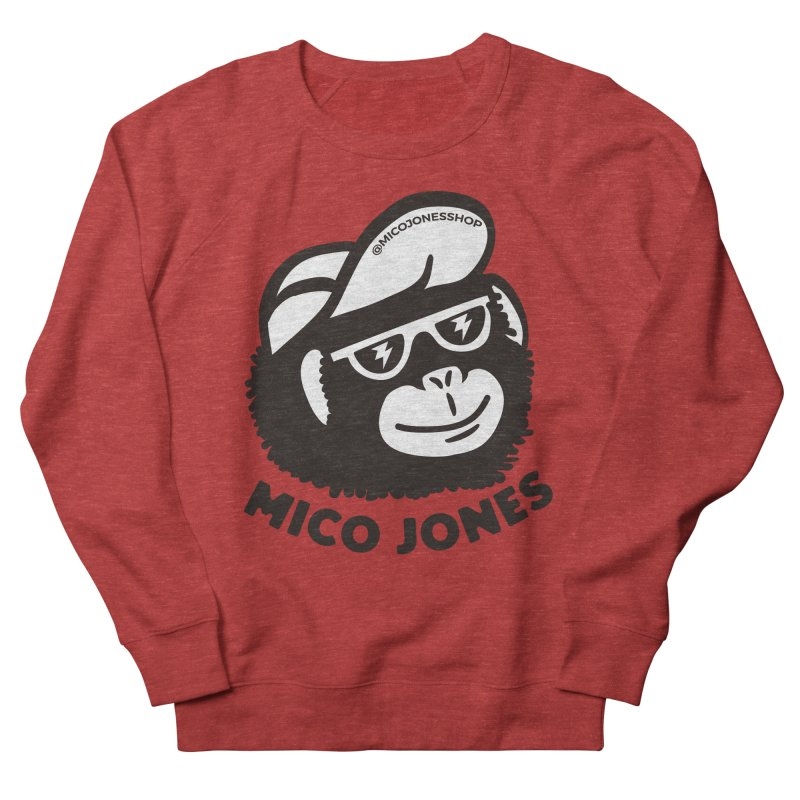 Mico Jones Mono Men's Sweatshirt by Mico Jones Artist Shop