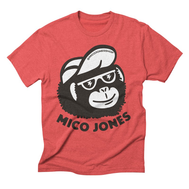 Mico Jones Mono Men's T-Shirt by Mico Jones Artist Shop