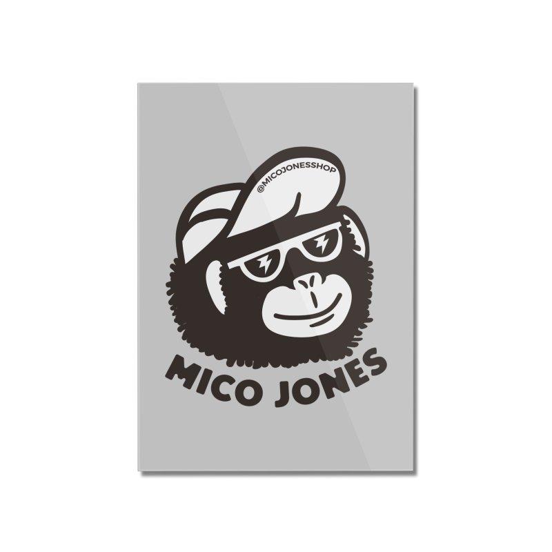 Mico Jones Mono Home Mounted Acrylic Print by Mico Jones Artist Shop